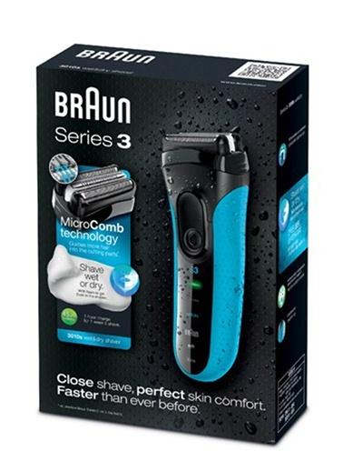 3010S Islak Kuru Tıraş Makinesi-Braun